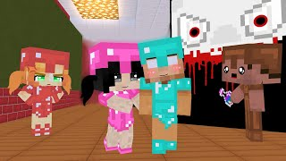 CUTE BABIES - (ESCAPE IN BABY SCP TEMPLE) MONSTER SCHOOL BECAME BABY PRO - MINECRAFT ANIMATION