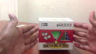 shengshou pyraminx and type c wittwo 2x2 unboxing