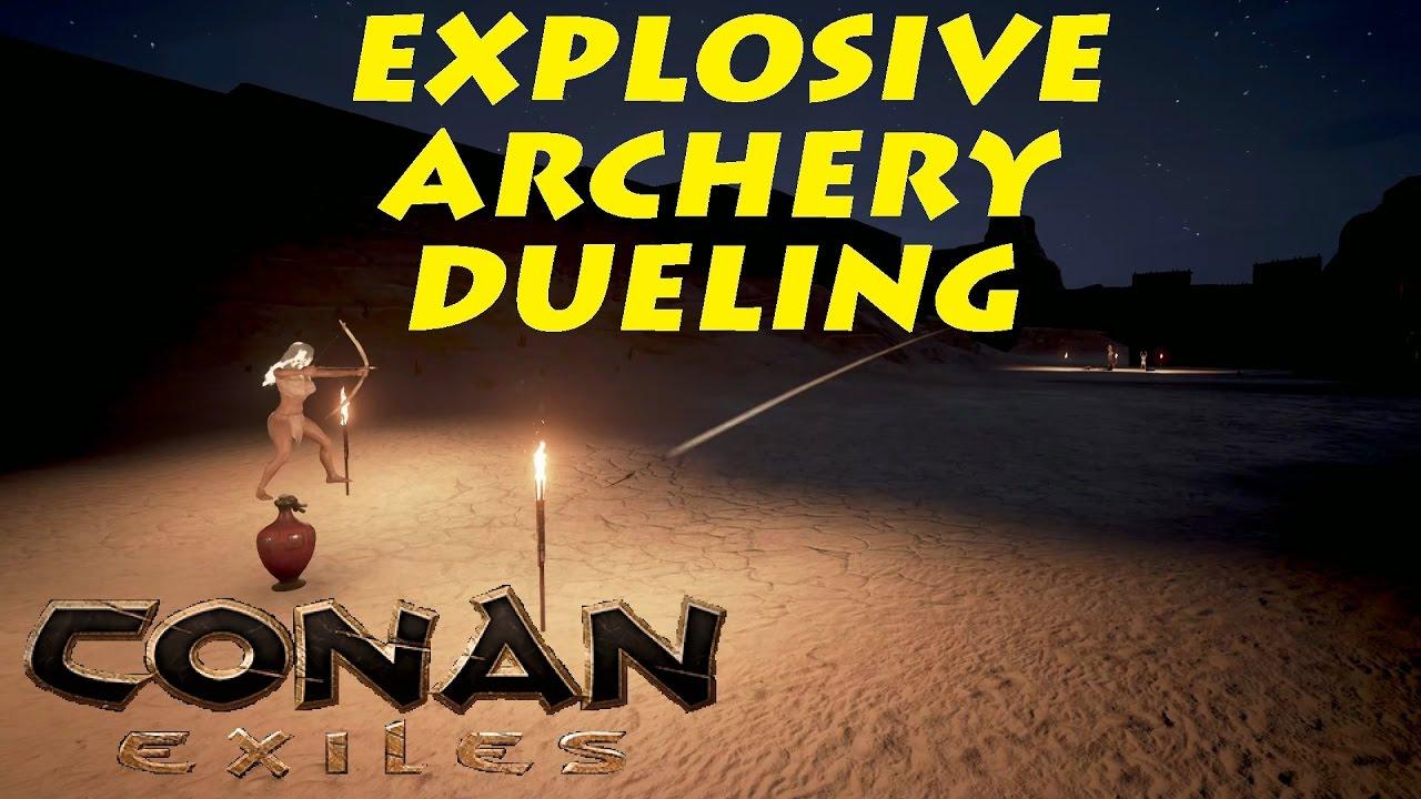 how to make explosives on conan exiles
