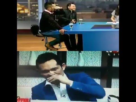DIDUGA  Sakau Efek Narkoba, Boni Hargens Nekat Wawancara Live Di TV One