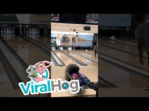 None - Stubborn Pin Robs A Guy From Bowling A Perfect Game!