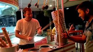 Turkish Icecream Seller Fun Trick Dubai