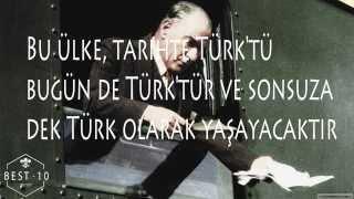 Atatürk'ün ŞOK OLACAĞINIZ Sözleri (kaldırılmadan izle)