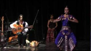 "Flamenco India and Ballet- ""Swan In Pure Waters"" -Oliver Rajamani"