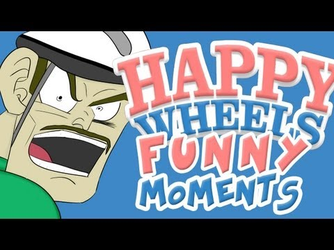 Thumbnail: HAPPY WHEELS - FUNNY MOMENTS MONTAGE