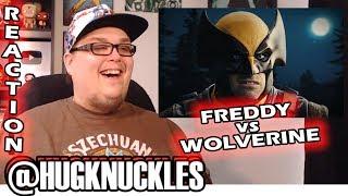 Freddy Krueger vs Wolverine - Epic Rap Battles of History. REACTION!! 🔥