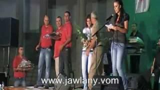 تكريم الفنانين المشاركين في مهرجان النحت في الجولان