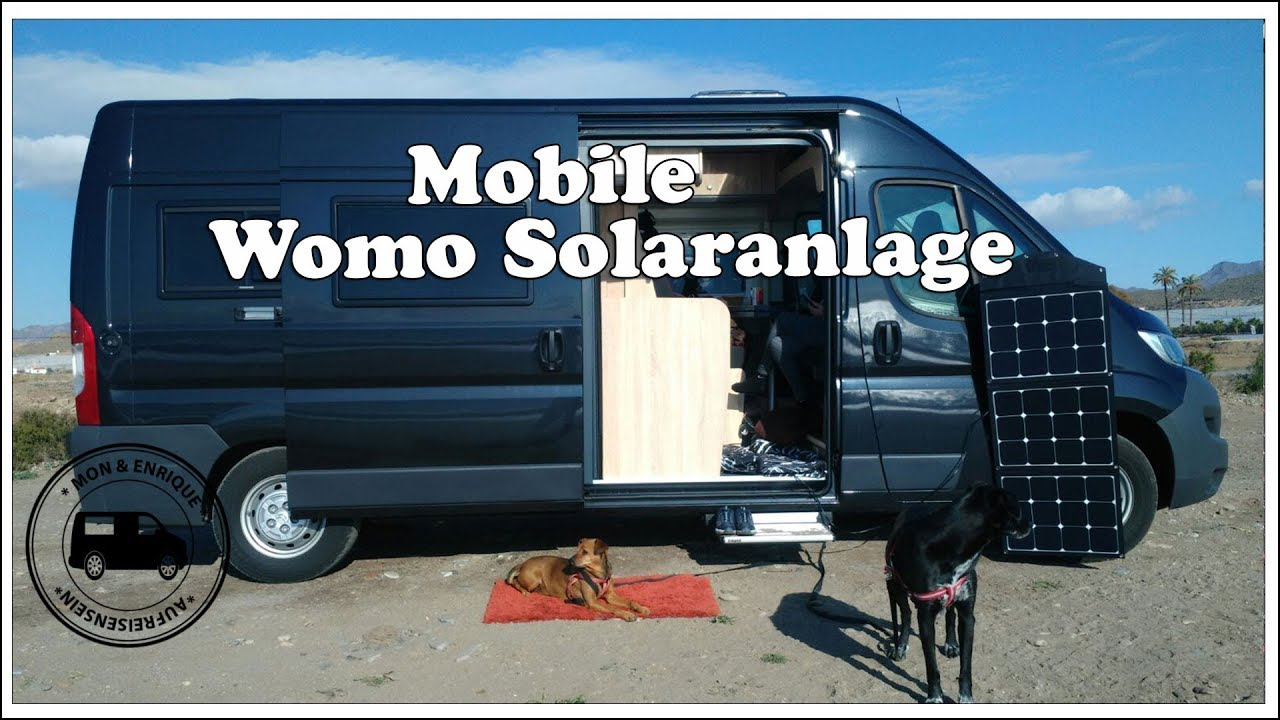 mobile wohnmobil solaranlage solartasche solar autark. Black Bedroom Furniture Sets. Home Design Ideas