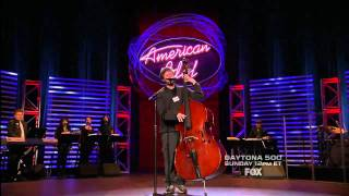 "true HD American Idol 2011 Casey Abrams audition + Hollywood rounds (including ""Georgia on My Mind"")"