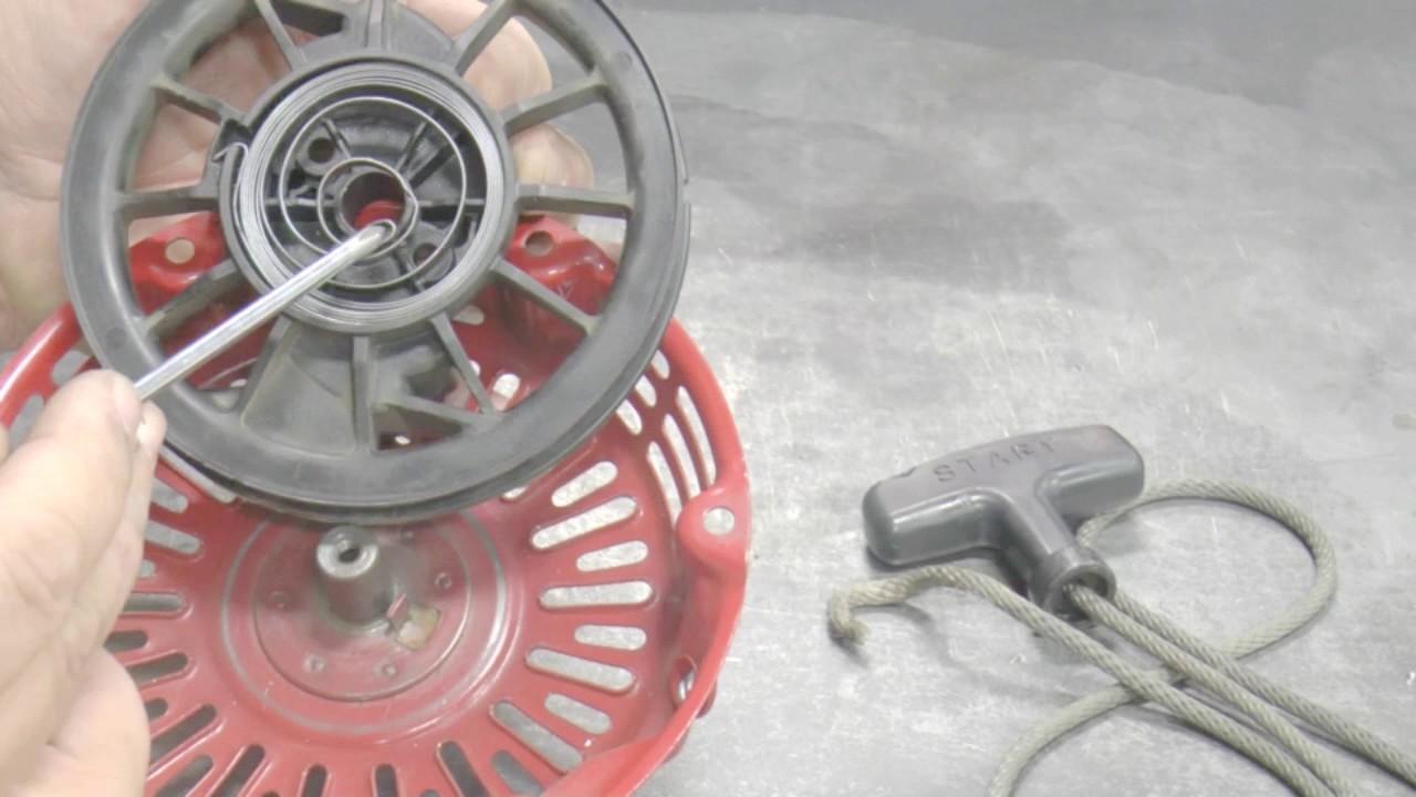 Rücklaufanlasser Anlasser Feder GX 390 seilzugstarter recoil starter spring