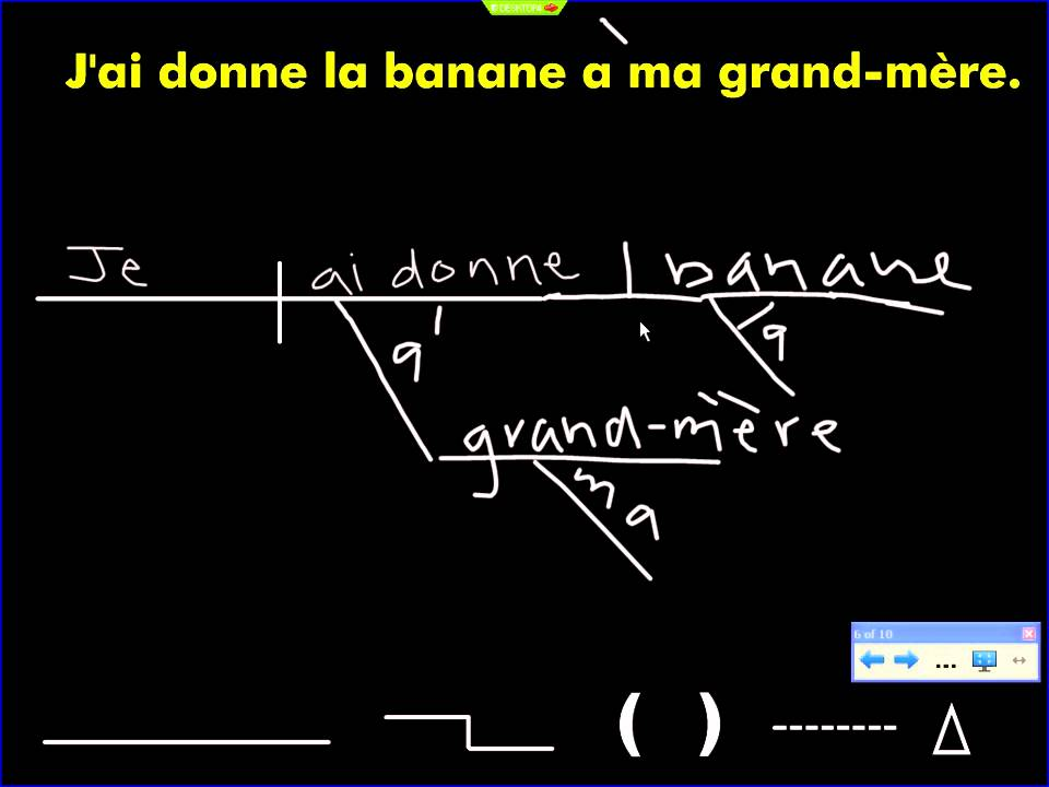 Sentence Diagram: French Sentence - YouTube