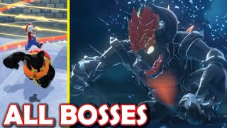 [ALL BOSSES] Bowser's Unrelenting Fury (Bowser's Fury harder all bosses mod)