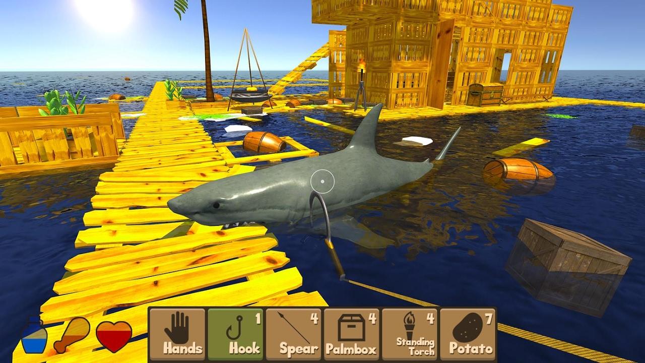 ผลการค้นหารูปภาพสำหรับ Raft Survival