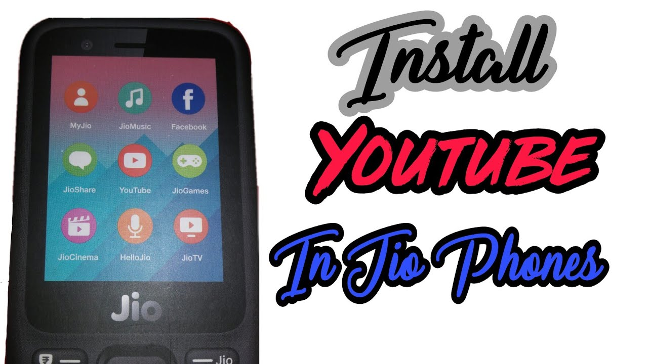 youtube download app for jio phone tamil