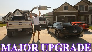 Cutting the EXHAUST OFF my Ford Raptor!