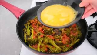 ✅ Brokoli Yemeyen  Kalmayacak 😍👏🏻 Teyzemde Yedim, Tadına Doyamadım👌🏻 Tavada Soslu Brokoli 🥦