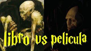 Resurrección de Voldemort | LIBRO VS PELÍCULA
