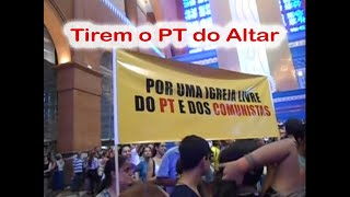 Tirem o PT do Altar x Dragão do Tradicionalismo - Denúncia em Aparecida e Bolsonaro Aplaudido