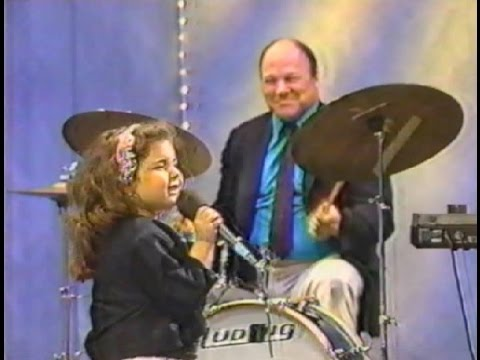 1988 EMILY HADDAD (6-year-old jazz prodigy) on TOM DREESEN's Chicago TV show