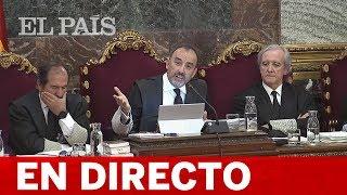 DIRECTO JUICIO DEL PROCÉS | El tribunal responde a las impugnaciones contra la prueba documental