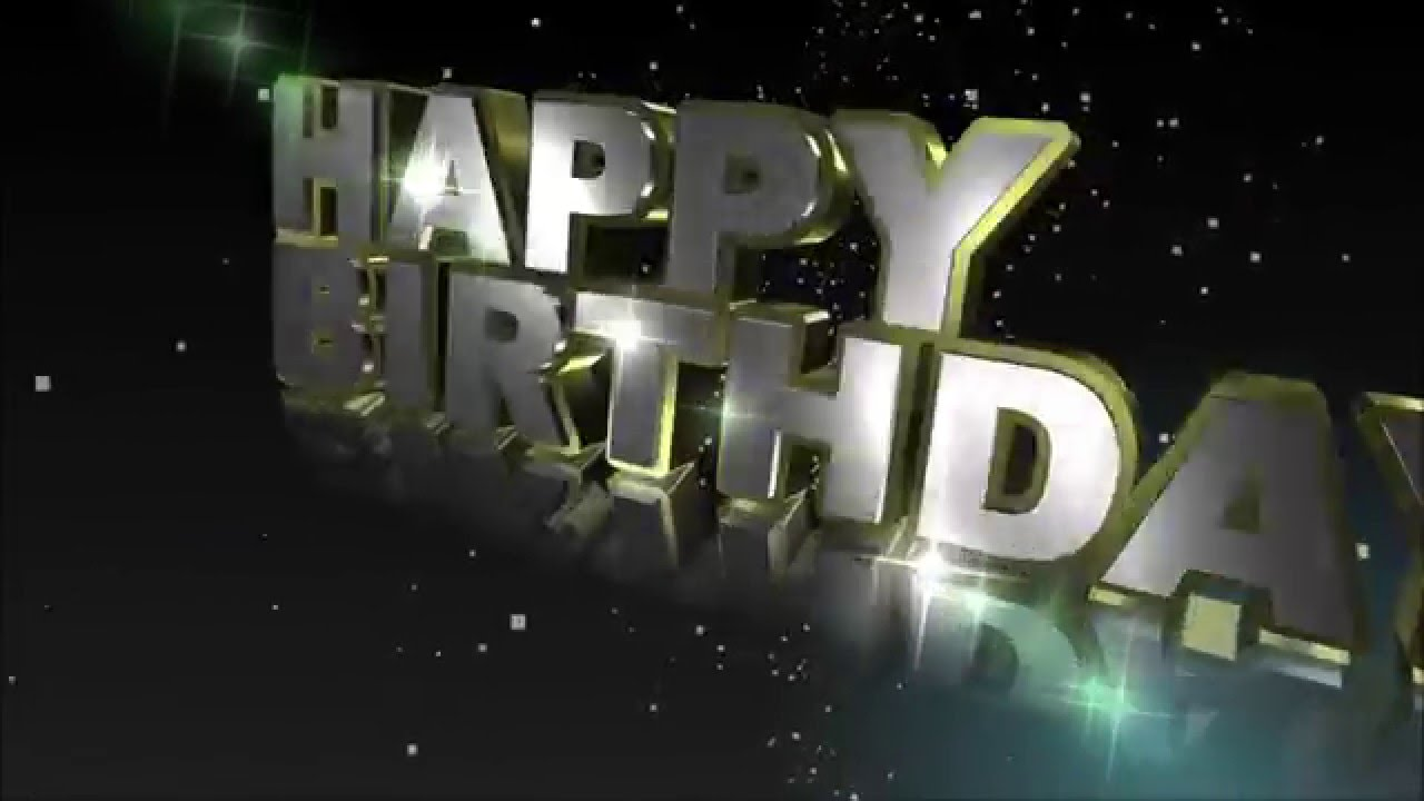 Happy Birthday Whatsapp Greetings Happy Birthday E Card Video