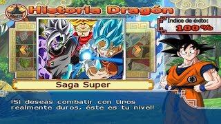 Dragon Ball Z Budokai Tenkaichi 4 - Modo historia Fusion Vegetto Blue VS Fusion Zamas Final Battle
