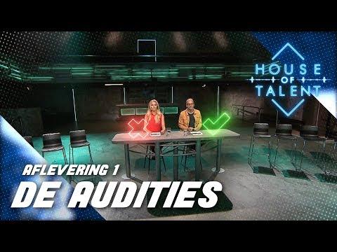 #1: Wie overleven de audities van House of Talent? (VOLLEDIGE AFLEVERING)