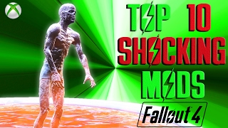 Fallout 4 Top 10 MOST SHOCKING mods