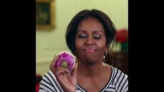 Мишель Обама танцует с репой