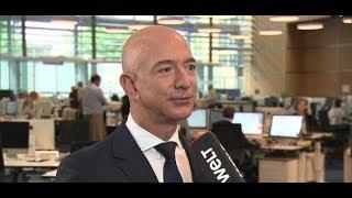Axel Springer Award 2018: Amazon-Gründer Jeff Bezos im Interview mit WELT