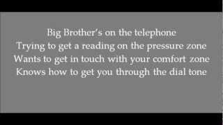 "Big Brother (Is Watching You) 1979 Orwell  ""Original Song"" Canadian songwriter"