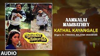 Kathal Kayangale Audio Song | Tamil Movie Aankalai Nambathey | Pandiyan,Rekha,Ramya | Devendran