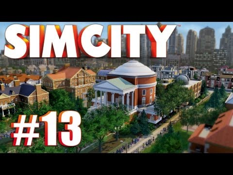Let's Play SimCity (2013) - Ep. 13: SOLAR POWER PLANT