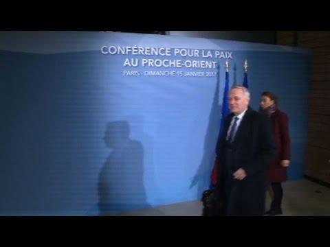 Israel/Palestine: Paris conference opens