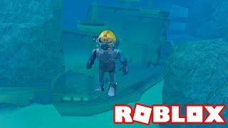 Roblox → EXPLORANDO AS PROFUNDEZAS !! - Scuba Diving at Quill Lake #2 🎮