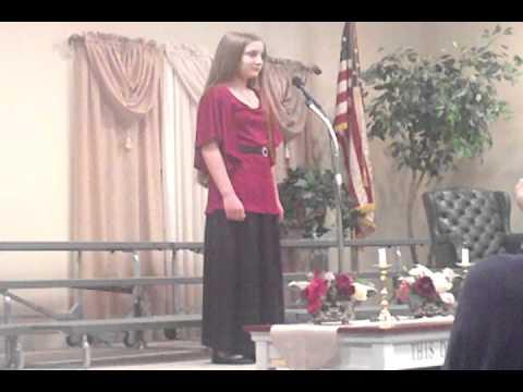 2012 Leesburg Christian School Oblivia's solo