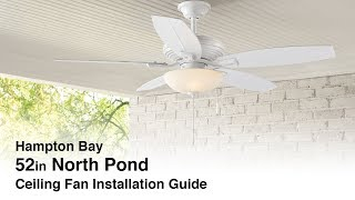 How to Install the North Pond Outdoor Ceiling Fan