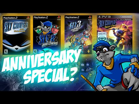 Sly Cooper 15th Anniversary Ideas! Sly Cooper 5, Re-imagining or PS4 Collection?