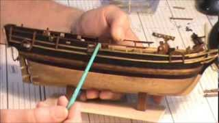 HMS BOUNTY MODEL SHIP PART 8