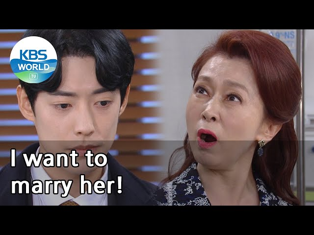 (1Click Scene) I want to marry her! (No Matter What) | KBS WORLD TV 210122