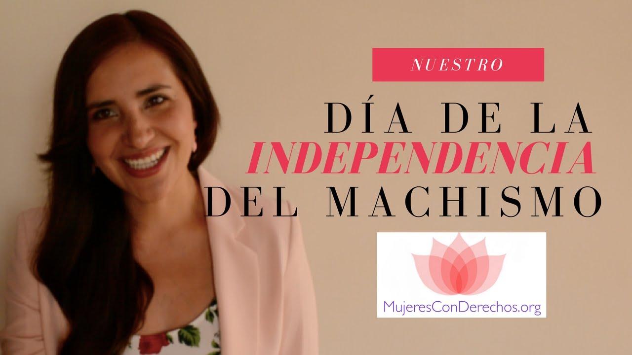 #DíadelaIndependencia del MACHISMO