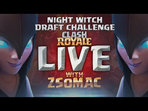 Night Witch Draft Challenge | Clash Royale Magyarul