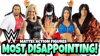 MOST DISAPPOINTING WWE Action Figures From Mattel