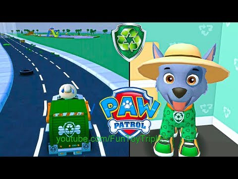 PAW Patrol: A Day in Adventure Bay - Rocky #1 - YouTube