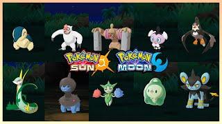 Pokemon Sun & Moon - All Island Scan Pokemon