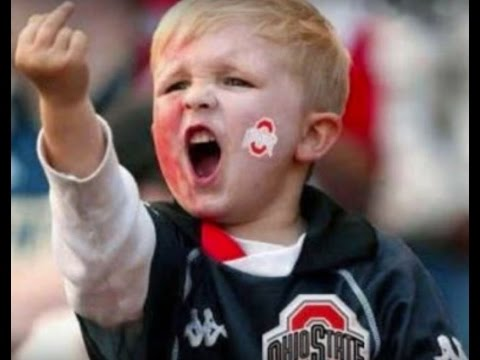 OHIO STATE SONG DONT GIVE A DAMM ABOUT MICHIGAN!