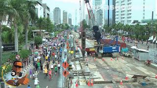 Jakarta MRT Project - Sunday 7 December 2014)