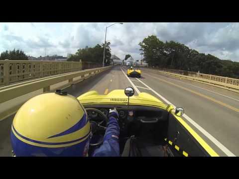 SAAB Sonett V4 - Pittsburgh Vintage Grand Prix, Schenley Park 2015 - full race