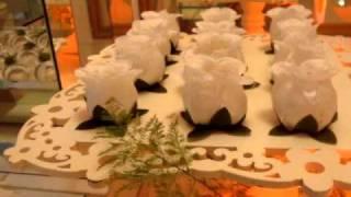 Forminhas em tecido para doces finos