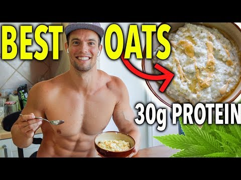 High Protein Breakfast Oatmeal Recipe (without protein powder)